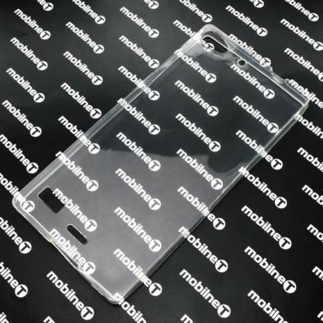 Gumené puzdro Lenovo Vibe X2, priehľadné