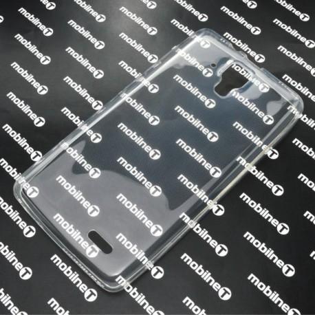 Gumené puzdro Lenovo A536, priehľadné