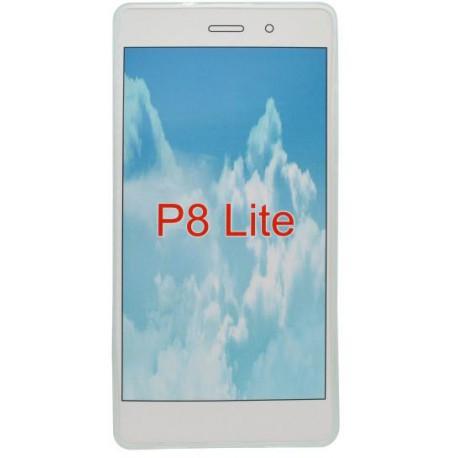 Gumené puzdro Huawei P8 Lite, priehľadné