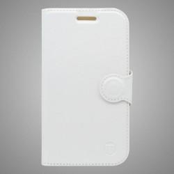 Knižkové puzdro bočné Sony Xperia M4 Aqua, biele
