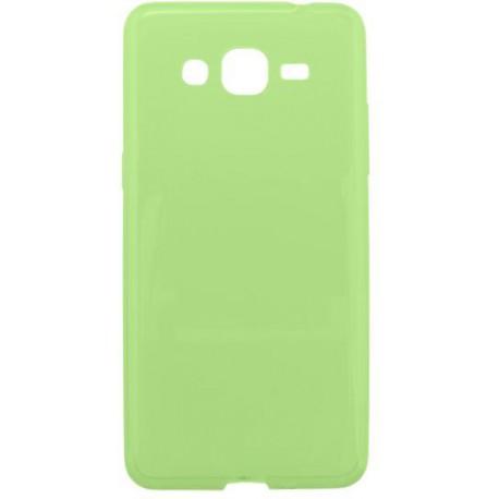 Gumené puzdro Samsung Galaxy Grand Prime, zelené