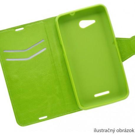Knižkové puzdro bočné Huawei P8 Lite, zelené