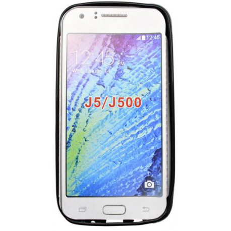 Gumené puzdro S-line Samsung Galaxy J5, čierne