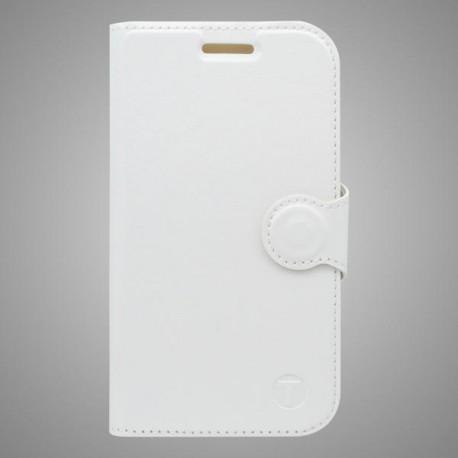 Bočné knižkové puzdro Samsung Galaxy J5, biele