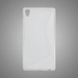 Gumené puzdro S-Line Sony Xperia Z5, transparentné