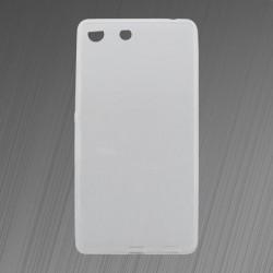 Gumené puzdro Sony Xperia M5, priehľadné