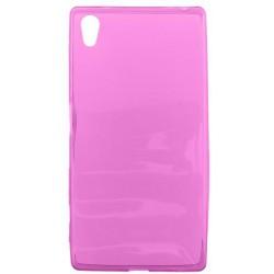 Gumené puzdro Sony Xperia Z5, ružové
