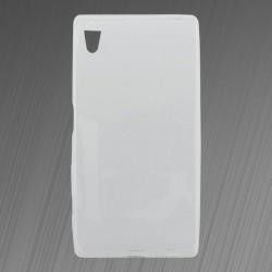 Gumené puzdro Sony Xperia Z5, priehľadné