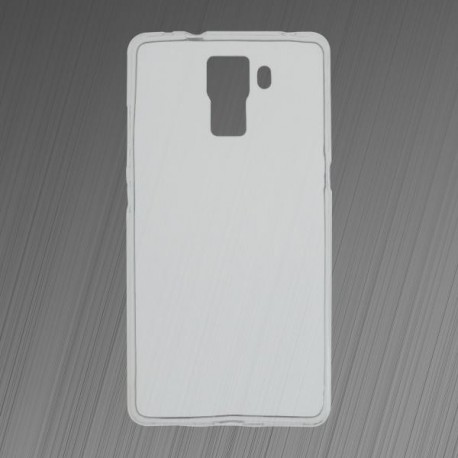 Gumené puzdro Huawei Honor 7, priehľadné