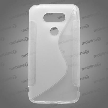 Gumené puzdro S-Line LG G5, transparentné