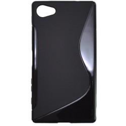Gumené puzdro S-Line Sony Xperia Z5 Compact, čierne