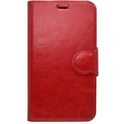 Bočné knižkové puzdro Sony Xperia M5, červené