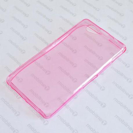 Gumené puzdro Sony Xperia Z1 Compact, ružové