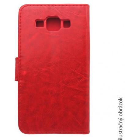 Bočné knižkové puzdro Lenovo A5000, červené