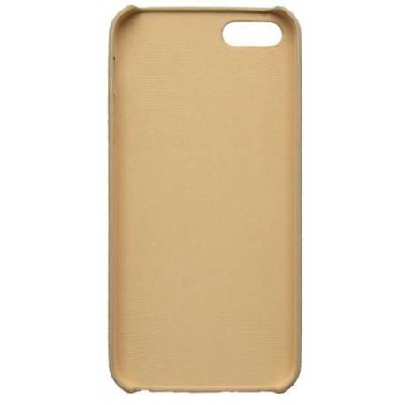 Gumené puzdro iPhone 5, svetlé drevo