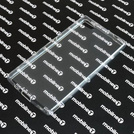 Priehľadné silikónové puzdro Sony Xperia Z5 Compact