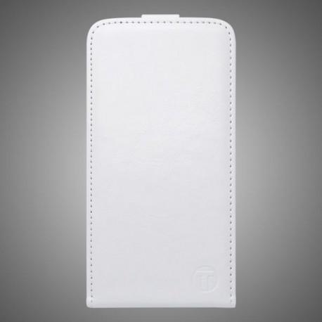 Knižkové sklopné puzdro Lenovo Vibe Shot, biele