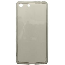 Gumené puzdro Sony Xperia M5, šedé