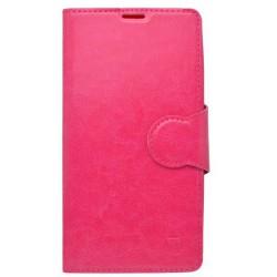 SON Xperia Z5 Compact ružová bočná(otvor)kniž.gum