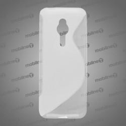 Gumené puzdro S-Line Nokia 230, transparentné