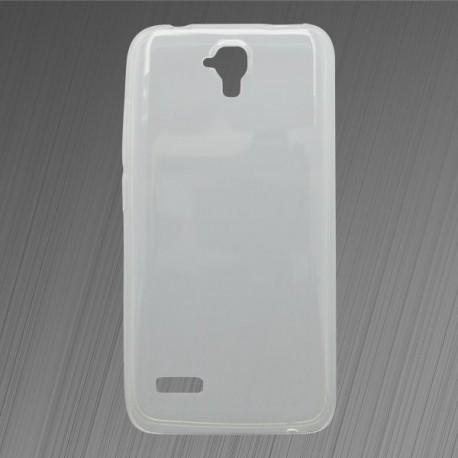Gumené puzdro Huawei Y5, priehľadné