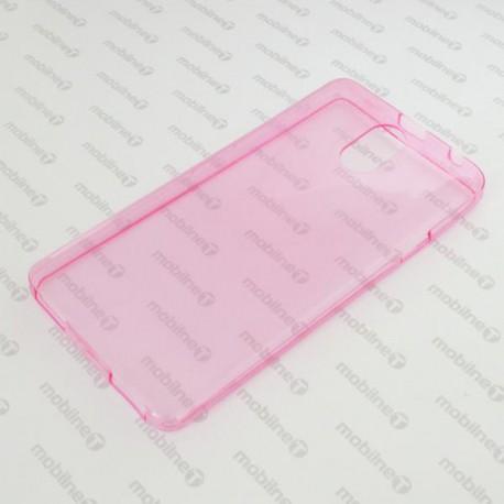 Gumené puzdro Lenovo Vibe P1m, ružové, anti-moisture