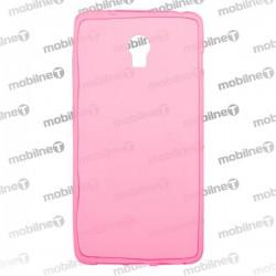 Gumené puzdro Lenovo Vibe P1, ružové, anti-moisture