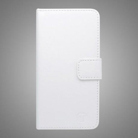 Bočné knižkové puzdro Lenovo Vibe P1, biele