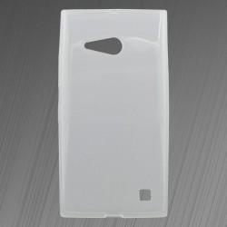 Gumené puzdro Nokia Lumia 730, priehľadné