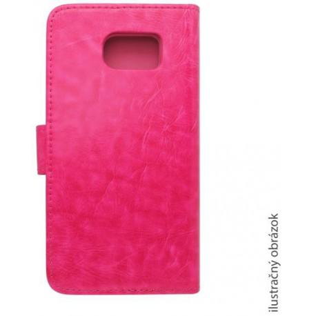 Bočné knižkové puzdro Lenovo Vibe P1m, ružové