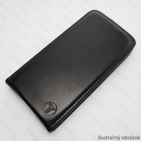 Sklopné knižkové puzdro Lenovo Vibe P1m, čierne