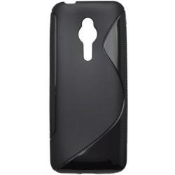 Gumené puzdro S-Line Nokia 230, čierne