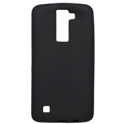 Matné gumené puzdro LG K8, čierne