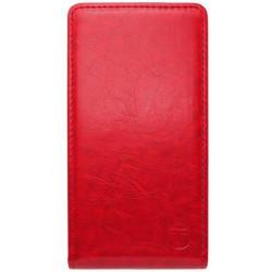 Sklopné knižkové puzdro LG Leon, červené