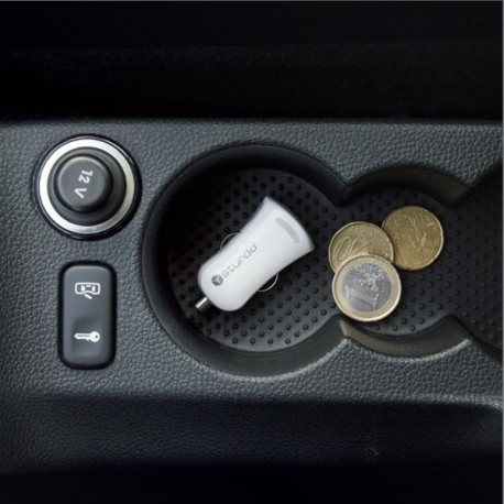 Sturdo autonabíjačka USB, 2A, biela