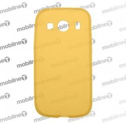 Gumené puzdro Samsung Galaxy Ace Style LTE, žlté, anti-moisture
