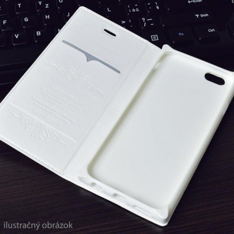 Knižkové puzdro Luxury Samsung Galaxy A5, biele