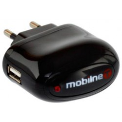 Sieťová nabíjačka (adaptér+kábel) iPhone 4, čierna