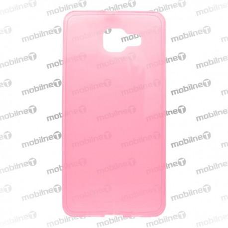 Gumené puzdro Samsung Galaxy A5 2016, ružové, anti-moisture