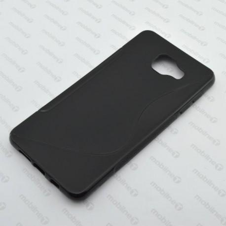 Gumené puzdro S-Line Samsung Galaxy A7 2016, čierne