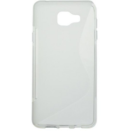 Gumené puzdro S-Line Samsung Galaxy A7 2016, transparentné