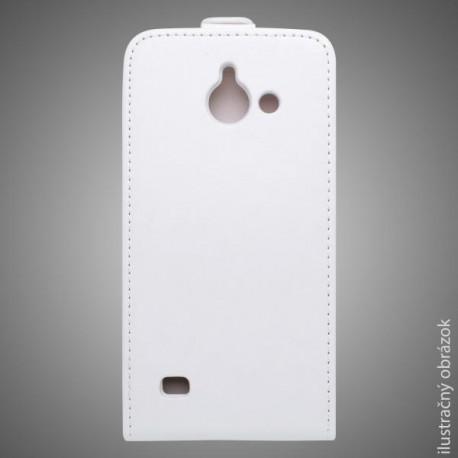 Knižkové puzdro Samsung Galaxy A5, biele, sklopné