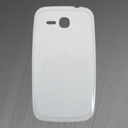 Tenké gumené puzdro Huawei Y600, priehľadné