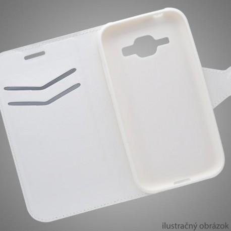Bočné knižkové puzdro Huawei Honor 7, biele