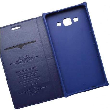 Knižkové puzdro Luxury Samsung Galaxy A5, modré