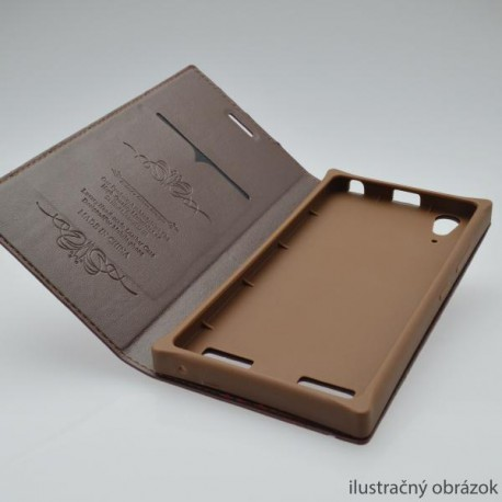 ... Knižkové puzdro Luxury iPhone 5 3b480e54f03