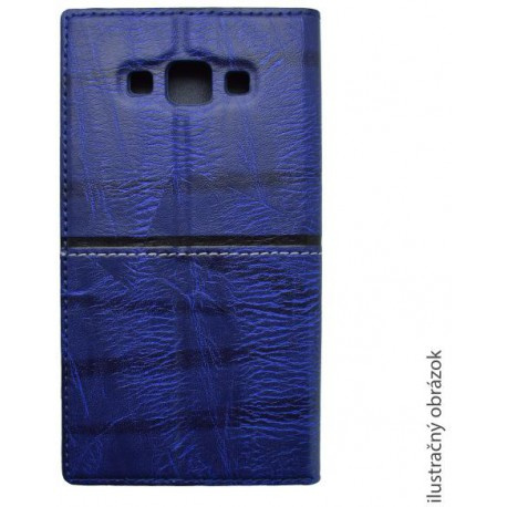 Knižkové puzdro Luxury Lenovo A7000, modré