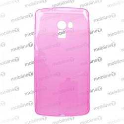 Gumené puzdro Lenovo A7010 (X3 Lite), ružové, anti-moisture