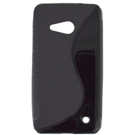 Gumené puzdro S-line Microsoft Lumia 550, čierne