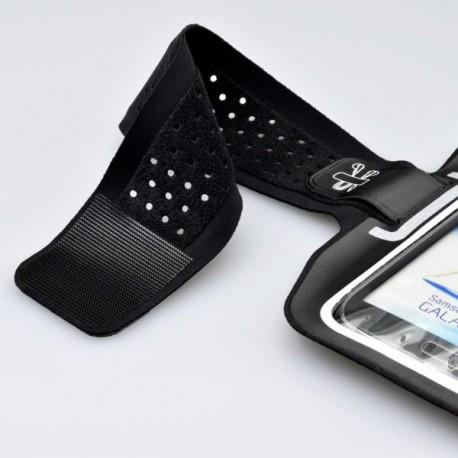 Športové puzdro na rameno 4XL, čierne s handsfree organizérom